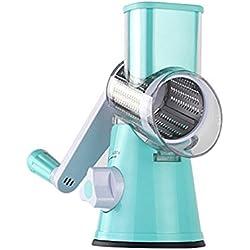lzndeal Mandoline Electrique Gadgets de Cuisine de coupeur rotatoire de Fruit de légume de Coupe de râpe Multifonctionnel de Hachoir Mandoline Cuisine Professionnel