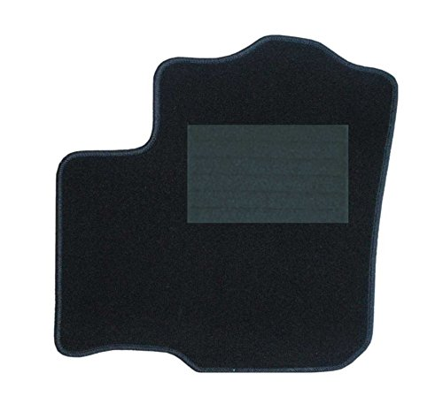 RAU Passform Fussmatte Fahrermatte CASINO schwarz, Fahrzeug siehe Text