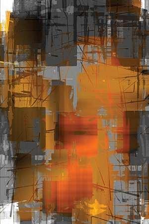 Feeling-at-home-Kunstdruck-Orange-Crush-cm128x85-Poster-fuer-Rahmen