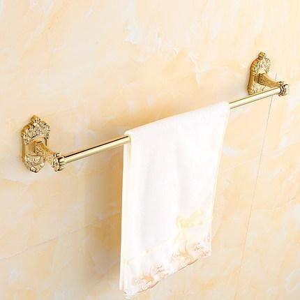 Continental Cup Halter Falten hängen dicke goldene Bad Handtuch Regal Regal Hardware Toilettenpapier Halter Seife Bad WC Toilette Geschirrtuch Haken Handtuchhalter , H (Falten Halter Cup)