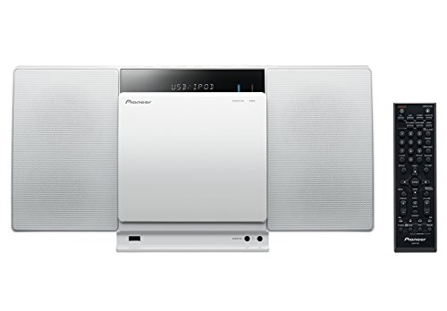 Dock Stereo Ipod Player Cd (Pioneer X-SMC01BT-W Micro Hifi-System (2x 10 Watt, Bluetooth, Front-USB, CD-Laufwerk) weiß)