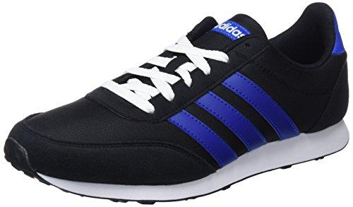 adidas Herren V Racer 2.0 Laufschuhe, Schwarz (Core Black/Collegiate Royal/Footwear White 0), 42 EU (Boxen Schuh Kunststoff)