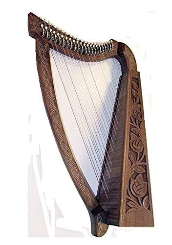Keltische Harfe 22 Saiten mit Halbtonklappen HARFE