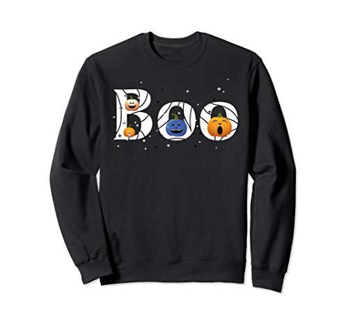 Themen Und Kostüm Bruder Schwester - BOO lustige Kürbisse, Mädchen Jungen Kinder Halloween Kostüm Sweatshirt