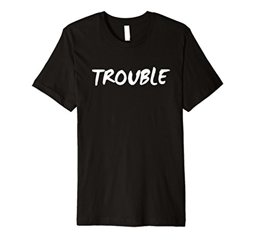 Double Trouble SPROSS Brother Sister Passende Twins Shirt - Besten Freund Adult T-shirt