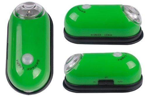 Tragbare Motion Sensor - Leuchten Bewegungsmelder Fazilität LED Stab - Überall hellgrünes M-LD020G BY Xcellent Globale (Led-belegungs-sensor-licht)