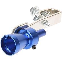 Silbato para tubo de escape de coche turbo, de Amazingdeal365, de aleación de aluminio y tamaño S