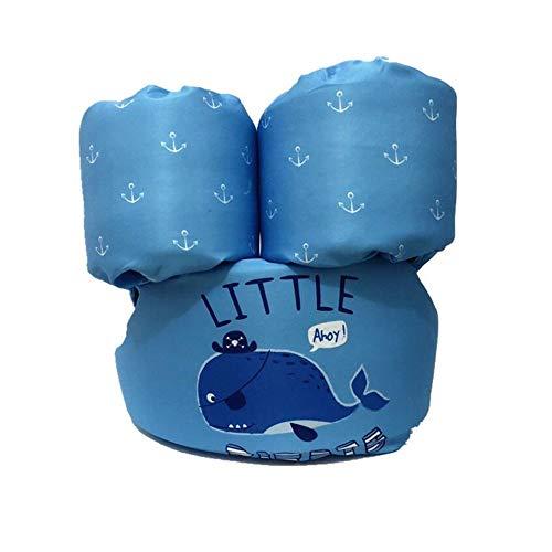 LLFFDC Schwimmflügel Puddle Jumper, für Kinder und Kleinkinder von 2-6 Jahre, 14-25kg, Schwimmhilfe für Jungen und Mädchen,Blue