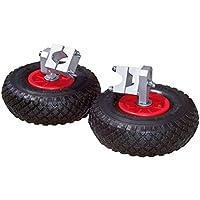 Con ruedas para carretilla 2er-Set, PU