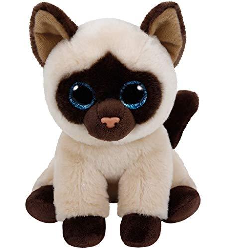 "Beanie Boo Cat - Jaden - Siamese - 15cm 6"""
