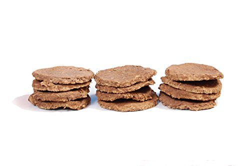 Organic Cow Dung Cakes made from Indian Desi Cow's Dung (12 Pcs) 100% Pure & Original (Ideal For Hawan Pujan, Holy Pujan) / Gay Gobar Upla/Kande