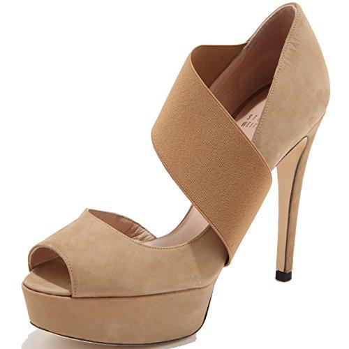 86134 decollete spuntato STUART WEITZMAN STRETCHY scarpa donna shoes women [35]
