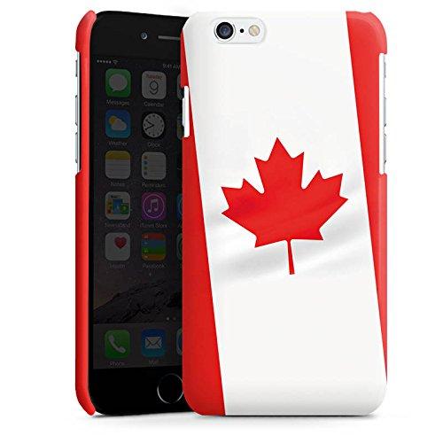 Apple iPhone 4 Housse Étui Silicone Coque Protection Canada Drapeau Canada Cas Premium brillant