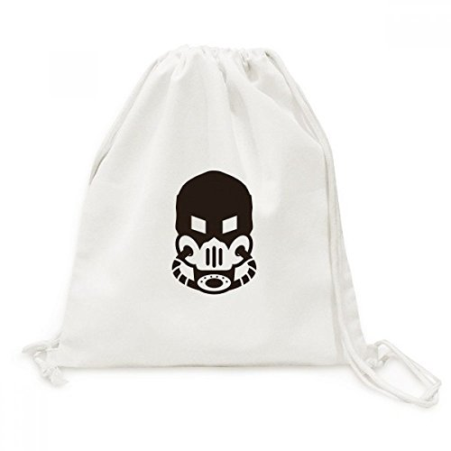 ltverschmutzung Gas Maske Counter Strike Leinwand Kordelzug Rucksack Travel Einkaufstaschen (Wirklich Coole Masken)
