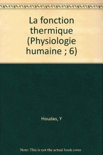 La fonction thermique