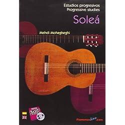 Estudios progresivos de Guitarra Flamenca (Soleá) // Progressive studies for Flamenco Guitar (Soleá) // Mehdi Mohagheghi (DVD/libro, DVD/Book)