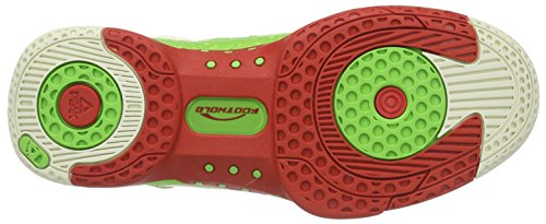 Peak Sport Europe Peak Basketballschuh Monster Gh3, Chaussures de Basketball homme Vert - Grün (Green/Red)