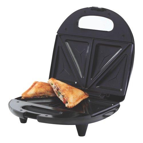 Borosil Neo BSM70NDS15 700-Watt Grill Sandwich Maker (Black)
