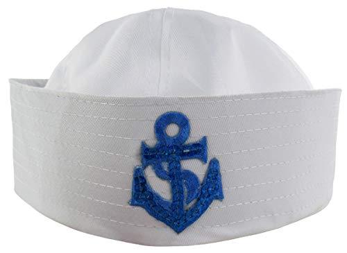Cosavorock Weißer Matrosen Hüte (Weiße Matrose Hut)