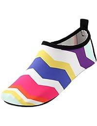 Happy cherry Zapatos de natación Niña Zapatills de Agua Para Piscina Playa Suela Antideslizantes