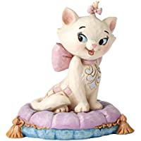 Enesco Disney Tradition By Jim Shore Marie Mini Figurina, Pvc, Multicolore, 4x6x6 cm