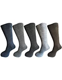 RC. ROYAL CLASS Men's Woolen Winter Socks (Multicolour) (Pack of 5 Pairs)