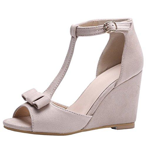 Les pompes des femmes OL Solide Style Multi Color Chaussures élégant talon mince 3695498 qArOT1