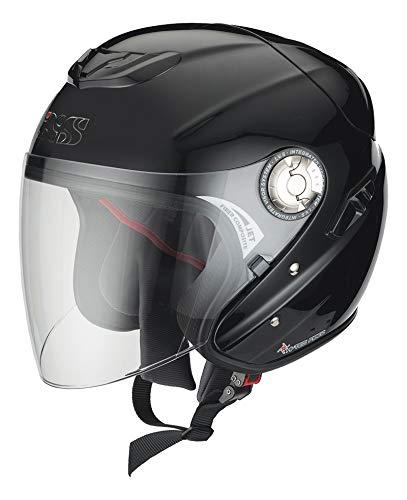 91 Matt (IXS Jethelm HX 91, Farbe matt-schwarz, Größe XL (61/62))