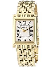 Seiko SUJG22P1 - Reloj analógico de mujer de cuarzo con correa de acero  inoxidable dorada - 346cd05c5655