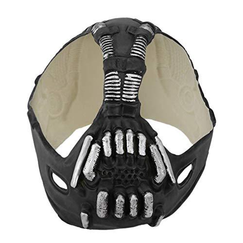 e Batman Maske Latex Maske für Cosplay ()