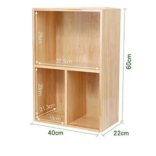 ZMSJ-YJ Bücherregal/Schreibtisch Holz Bücherregal Schüler Kind einfach Desktop kleine Bücherregal Lagerregal Büro kleine Bücherregal Bücherregal (Farbe : 2)
