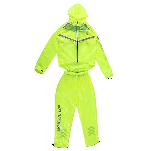 Alomejor Unisex Regenbekleidung geeignet, Outdoor, Winddicht, wasserdicht,...