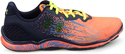 Under Armour MICRO G STING TR Damen Hallenschuhe After Burn/Faded ink/Yellow Ray 877