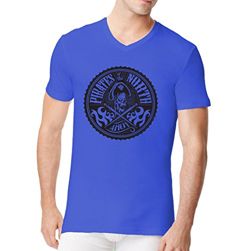 Gothic Fantasy Männer V-Neck Shirt - Piraten des Nordens by Im-Shirt Royal