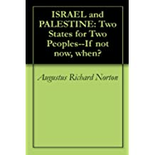 ISRAEL and PALESTINE: Two States for Two Peoples--If not now, when? (English Edition)