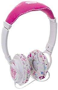 "Giochi Preziosi 2243 Circumaural Diadema Rosa, Color Blanco Auricular - Auriculares (Circumaural, Diadema, 3.5 mm (1/8 ""), Rosa, Color Blanco, 20 - 20000 Hz, Alámbrico)"