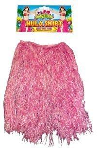 HULA Grass Skirt - PINK 80cm - Grass Skirt Kostüm