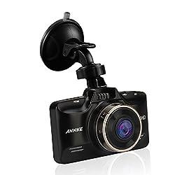 """Annke Autokamera 1080P HD Dashcam 2.7"""" LCD Display 178°Weitwinkel DVR Videorekorder Fahrt Camcorder mit G-Sensor, Bewegungserkennung, Nachtsicht"""