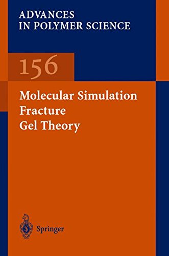 Molecular simulation fracture gel theory