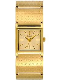 Mango A68218D7I - Reloj para mujeres color dorado