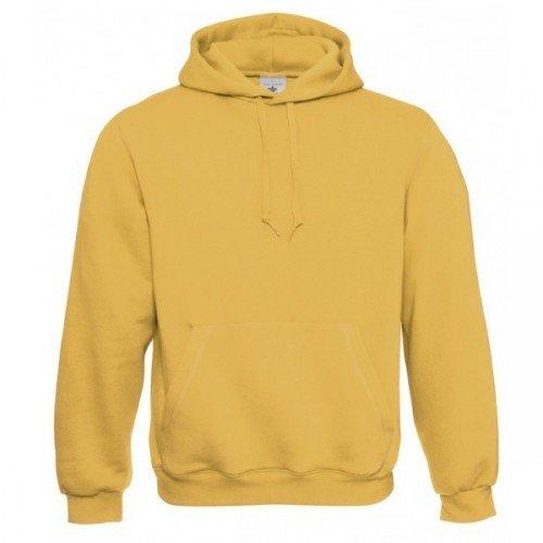 B&C Herren Kapuzenpullover / Hoodie / Kapuzensweater Gold