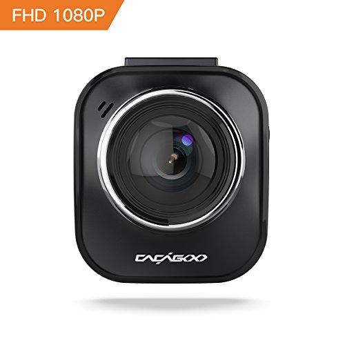 """CACAGOO Telecamera per Auto DVR 2"""" TFT LCD HD Dashboard Videoregistratore Dash Cam 170°Ampio Angolo con Ambarella A7L G-sensore Motion Detection Registrazione Parcheggio Monitor Visione Notturna"""