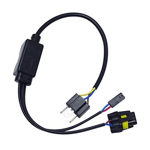 Feeldo simplifi/é//H4//9003//HB2/Hi//Lo Bi-Xenon ampoules HID Relay Harnais c/âblage contr/ôleur