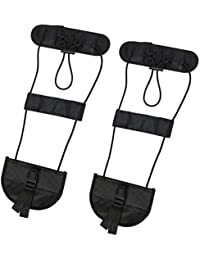 2pcs Bagaje Bungee,Cinturón de Equipaje Travel Bag Adjustable Embalaje Belt Suitcase Correas de Seguridad