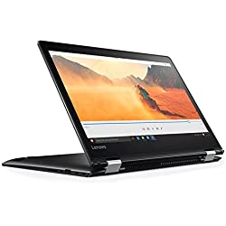 "Lenovo Yoga 510-14IKB - Ordenador portátil convertible de 14"" (Intel Core i3-7100U, 4 GB RAM, 128 GB SSD, Intel HD 620, Windows 10 Home) negro - Teclado QWERTY Español [España]"