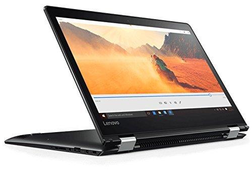 Lenovo Yoga 510-14IKB - Ordenador portátil convertible de 14' (Intel Core i3-7100U, 4 GB RAM, 128 GB SSD, Intel HD 620, Windows 10 Home) negro - Teclado QWERTY Español [España]