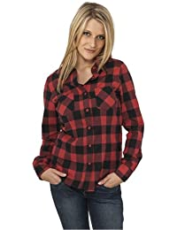 Urban Classics Ladies Checked flannel shirt TB388