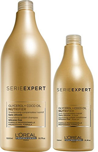 Loreal Loreal Serie Expert Nutrifier Shampoo 1500 ml & Conditioner 750 ml -