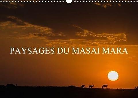 Paysages Du Masai Mara 2018: Paysages De La Savane Africaine