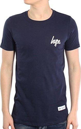 Hype Herren T-Shirt Blau - Navy